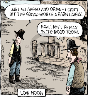 Cartoonist Dave Coverly  Speed Bump 2016-06-27 side