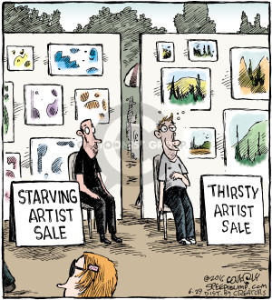 Comic Strip Dave Coverly  Speed Bump 2016-06-29 artist