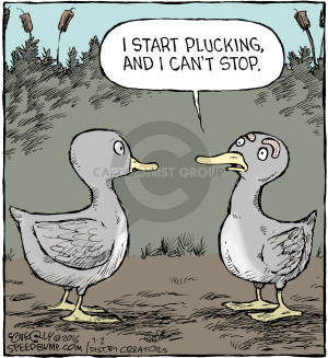 Comic Strip Dave Coverly  Speed Bump 2016-07-02 pluck