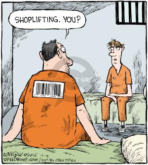Cartoonist Dave Coverly  Speed Bump 2016-07-09 prison