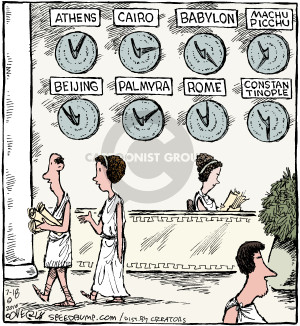 Cartoonist Dave Coverly  Speed Bump 2016-07-18 Ancient Rome