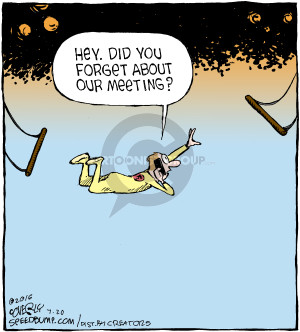 Comic Strip Dave Coverly  Speed Bump 2016-07-20 forgotten