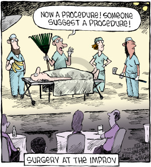 Comic Strip Dave Coverly  Speed Bump 2016-07-27 surgery