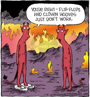 Cartoonist Dave Coverly  Speed Bump 2016-07-30 flip-flop