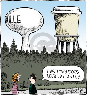 Comic Strip Dave Coverly  Speed Bump 2016-08-08 tower