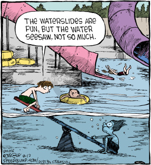 Comic Strip Dave Coverly  Speed Bump 2016-08-12 water slide