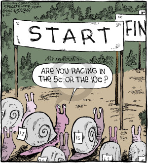 Comic Strip Dave Coverly  Speed Bump 2016-08-20 snail