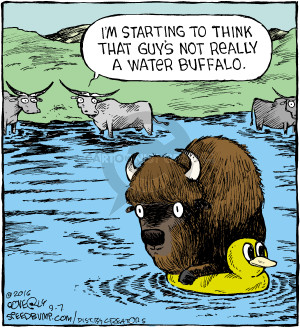 Comic Strip Dave Coverly  Speed Bump 2016-09-07 bison