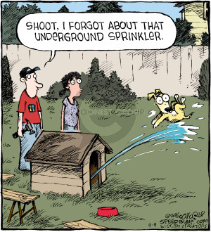 Comic Strip Dave Coverly  Speed Bump 2016-09-09 shoot