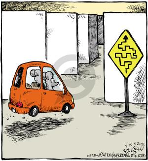 Comic Strip Dave Coverly  Speed Bump 2016-09-14 car