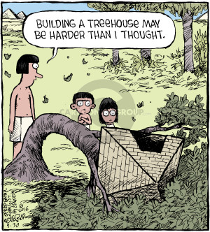 Comic Strip Dave Coverly  Speed Bump 2016-09-30 treehouse