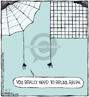 Comic Strip Dave Coverly  Speed Bump 2016-10-07 relax