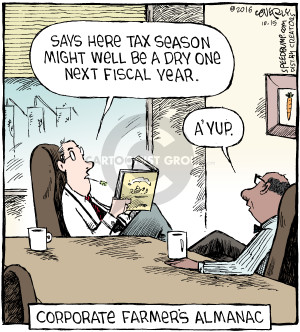 Comic Strip Dave Coverly  Speed Bump 2016-10-15 fiscal