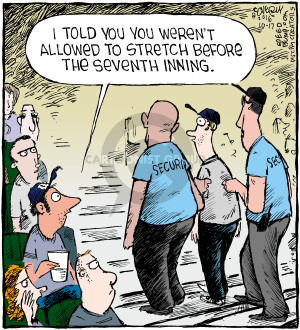 Comic Strip Dave Coverly  Speed Bump 2016-10-17 baseball