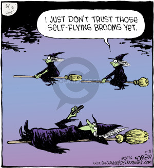 Comic Strip Dave Coverly  Speed Bump 2016-10-21 automobile