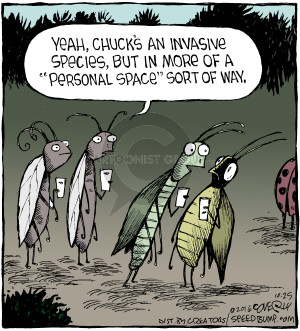 Comic Strip Dave Coverly  Speed Bump 2016-10-25 invasion