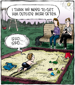 Comic Strip Dave Coverly  Speed Bump 2016-11-07 baby