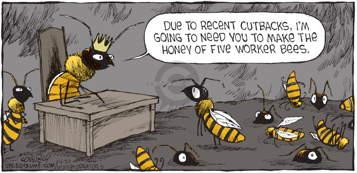 Comic Strip Dave Coverly  Speed Bump 2016-11-27 worker