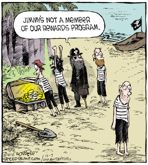 Cartoonist Dave Coverly  Speed Bump 2016-12-07 pirate