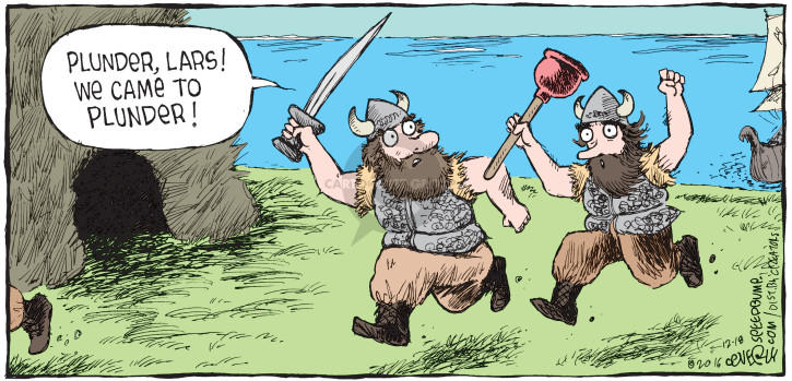 Comic Strip Dave Coverly  Speed Bump 2016-12-18 viking