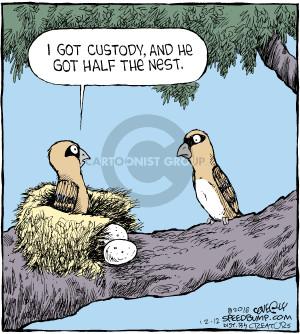 Comic Strip Dave Coverly  Speed Bump 2016-12-12 nest