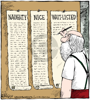 Cartoonist Dave Coverly  Speed Bump 2016-12-13 wait