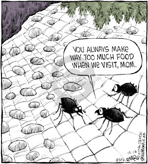 Cartoonist Dave Coverly  Speed Bump 2016-12-14 cooking