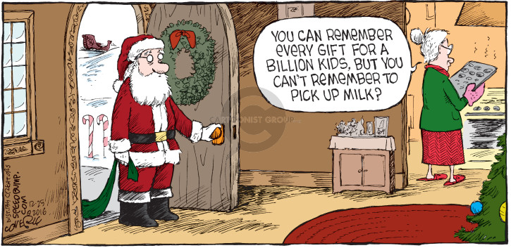 Comic Strip Dave Coverly  Speed Bump 2016-12-25 forgotten