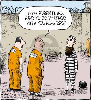 Cartoonist Dave Coverly  Speed Bump 2016-12-20 prison
