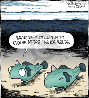 Comic Strip Dave Coverly  Speed Bump 2016-12-24 evolution