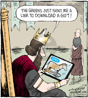 Comic Strip Dave Coverly  Speed Bump 2016-12-26 Greece