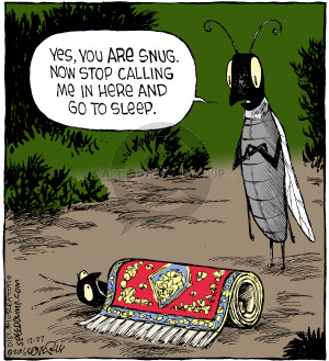 Comic Strip Dave Coverly  Speed Bump 2016-12-27 rug