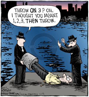 Comic Strip Dave Coverly  Speed Bump 2017-01-12 thought