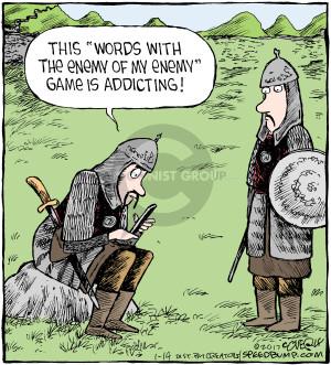 Cartoonist Dave Coverly  Speed Bump 2017-01-14 addictive