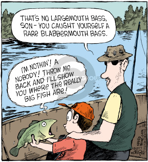Comic Strip Dave Coverly  Speed Bump 2017-01-28 fish