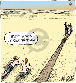 Comic Strip Dave Coverly  Speed Bump 2017-02-17 wasn't
