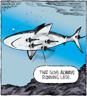 Comic Strip Dave Coverly  Speed Bump 2017-02-18 shark