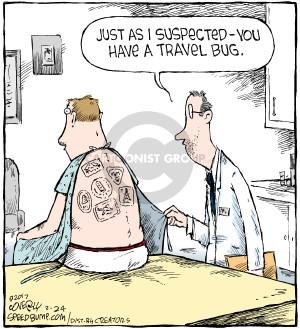 Cartoonist Dave Coverly  Speed Bump 2017-02-24 virus