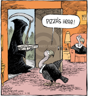 Comic Strip Dave Coverly  Speed Bump 2017-02-25 delivery