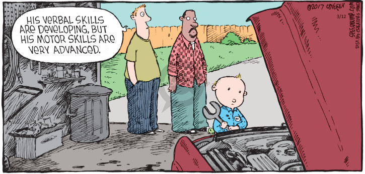 Comic Strip Dave Coverly  Speed Bump 2017-03-12 originally