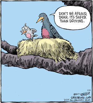 Comic Strip Dave Coverly  Speed Bump 2017-03-10 originally