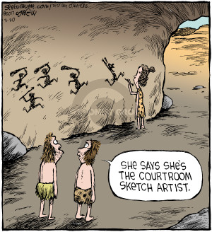 Cartoonist Dave Coverly  Speed Bump 2017-03-20 cave painting
