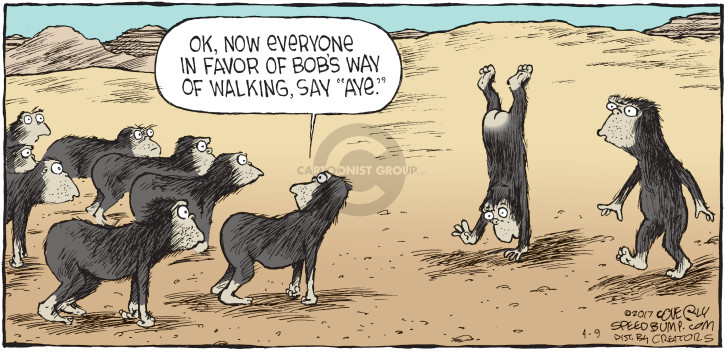 Comic Strip Dave Coverly  Speed Bump 2017-04-09 favor