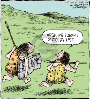 Comic Strip Dave Coverly  Speed Bump 2017-04-15 man cave
