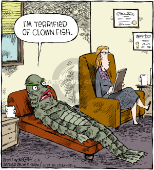 Comic Strip Dave Coverly  Speed Bump 2017-05-09 fish