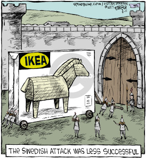 Comic Strip Dave Coverly  Speed Bump 2017-05-11 Greece