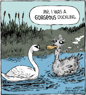 Comic Strip Dave Coverly  Speed Bump 2017-06-05 duckling