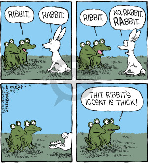 Comic Strip Dave Coverly  Speed Bump 2017-06-14 rabbit