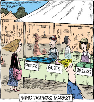 Comic Strip Dave Coverly  Speed Bump 2017-06-30 breeze