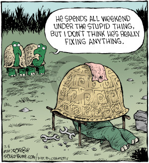 Comic Strip Dave Coverly  Speed Bump 2017-07-05 weekend